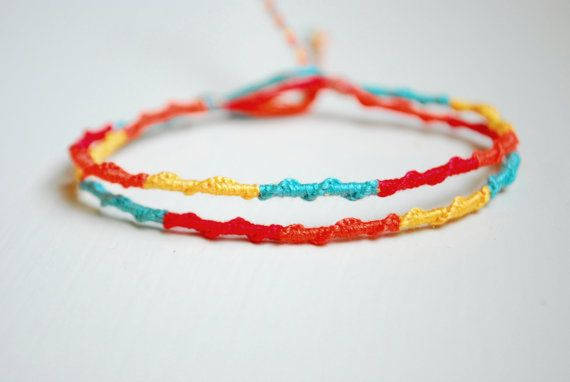 Clearance Bright Bliss Chinese Staircase Friendship Bracelet