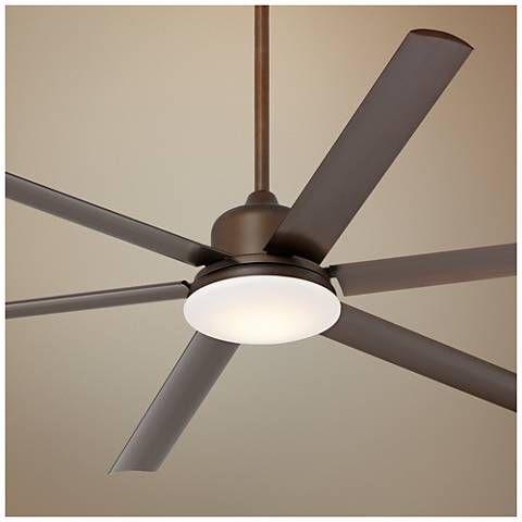 72 Casa Arcade Bronze Damp Led Ceiling Fan Heart Home