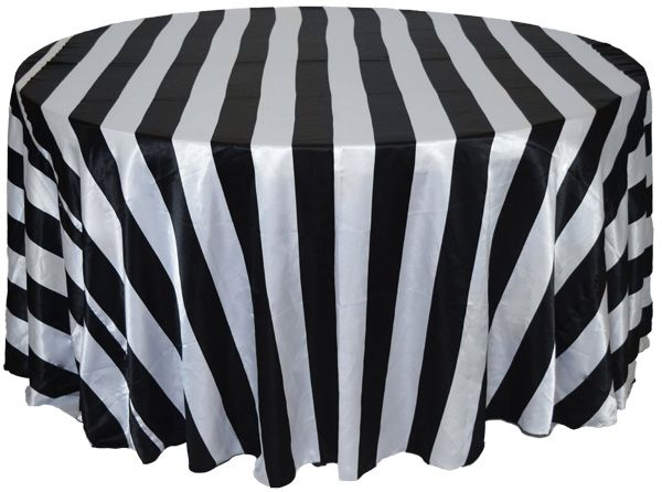 Black And White Striped Tablecloth For Sale Approximately 114 Part 39