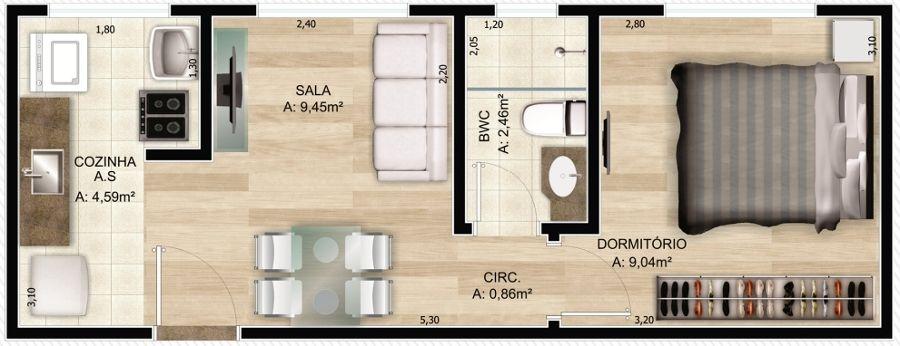 projeto casa 40m2 - Pesquisa Google   QUIOSQUE   Pinterest ...