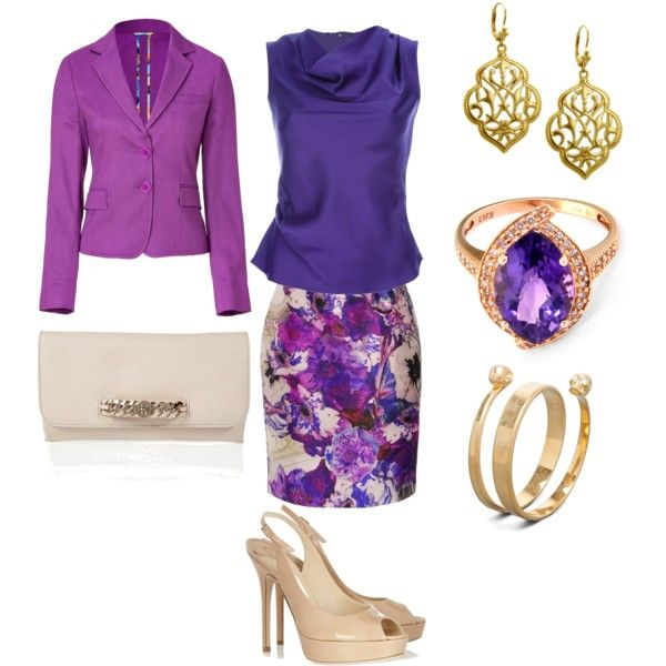 Purple Passion, created by jeanette-byd-days on Polyvore
