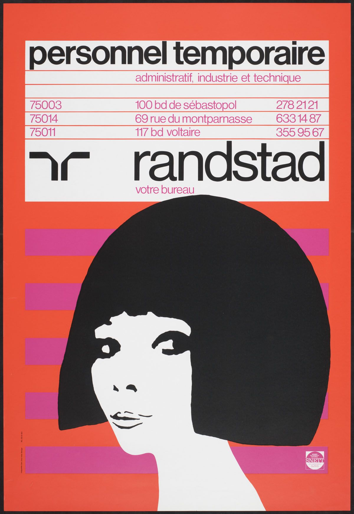 Book Cover Design Reference : Randstad personnel temporaire ben bos design