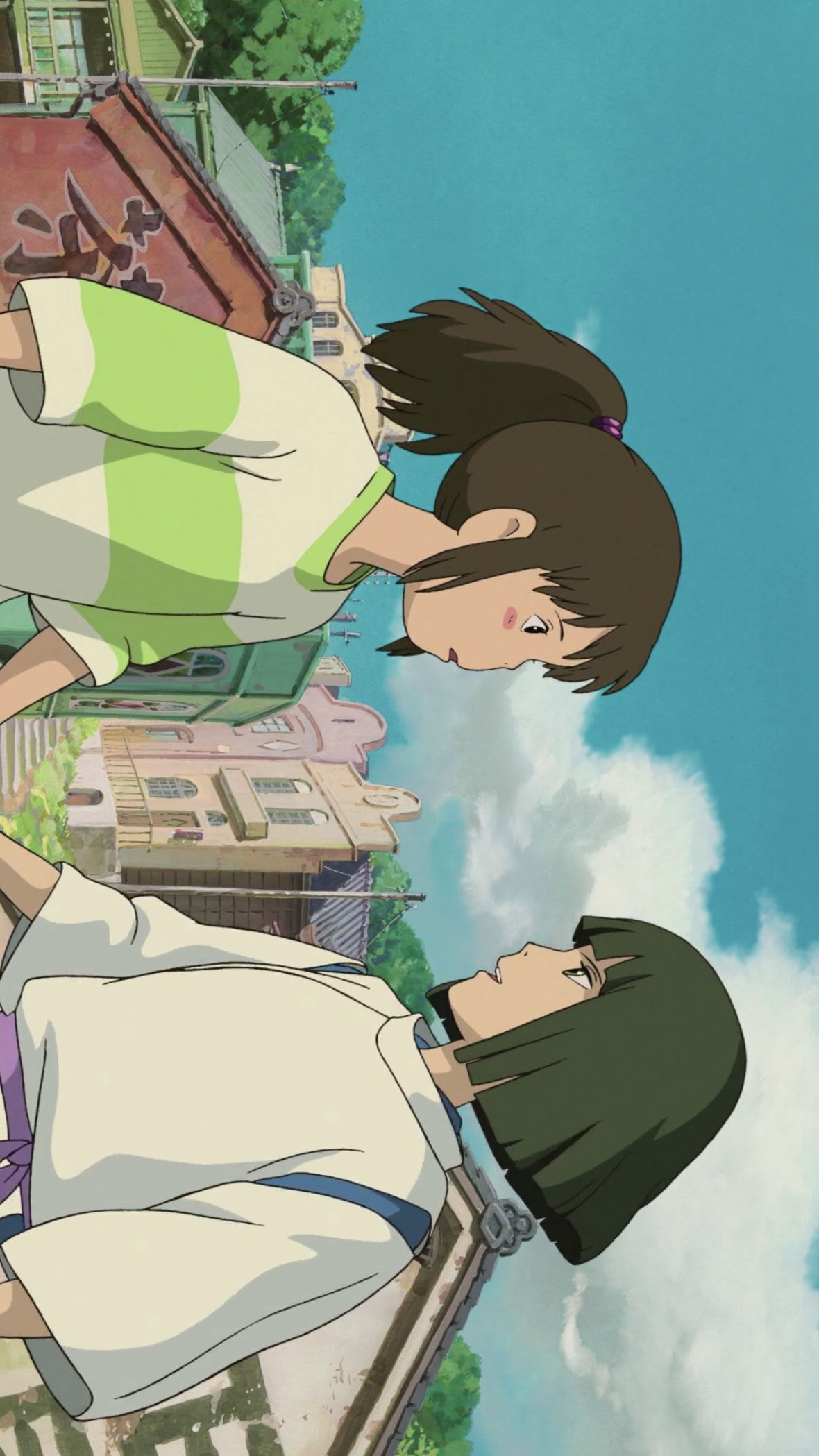 C H I H I R O En 2020 Le Voyage De Chihiro Illustrations Animees Projets De Dessin