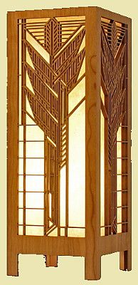 Fair Oak Workshops - Contemporary Arts & Crafts Furnishings and Accessories [Frank Lloyd Wright Collection®<br>Wood Lightboxes]