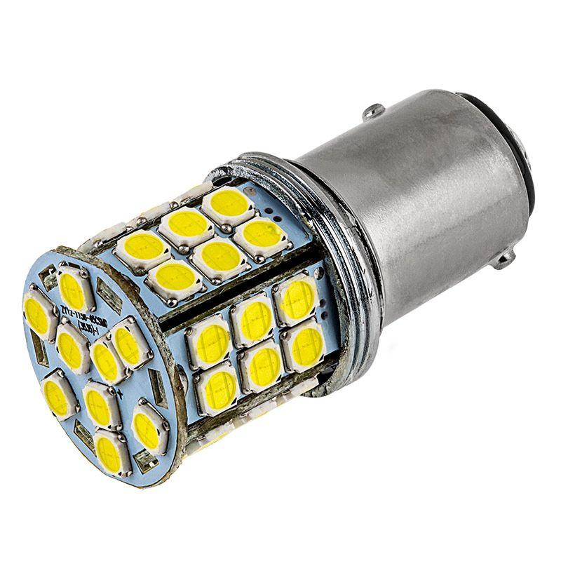 1157 Led Bulb Dual Function 27 Smd Led Tower Bay15d Bulb Led Bulb Led Replacement Bulbs Bulb