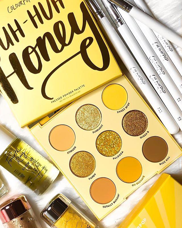 Colourpop Uh-huh Honey Shadow Palette Original - $ 549.00