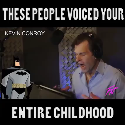 Photo of people voiced our childhood