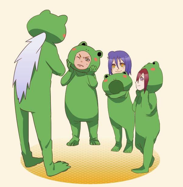 Little Naruto Kids images nagato, yahiko, konan HD wallpaper and ...
