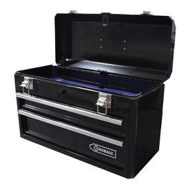 Kobalt 20 6 In Lockable Black Steel Tool Box For The