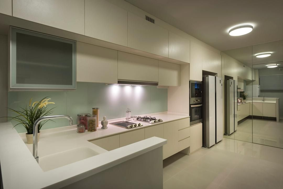 Check out this Contemporary-style HDB Kitchen and other ...