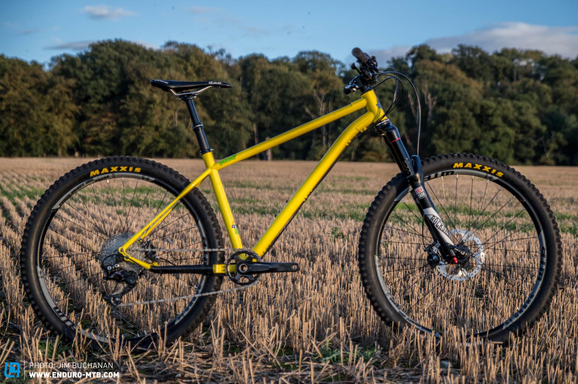 Stif Cycles Morf Review Long Low Slack Steel Hardtail From The
