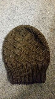 O.O : Diamond brocade beanie