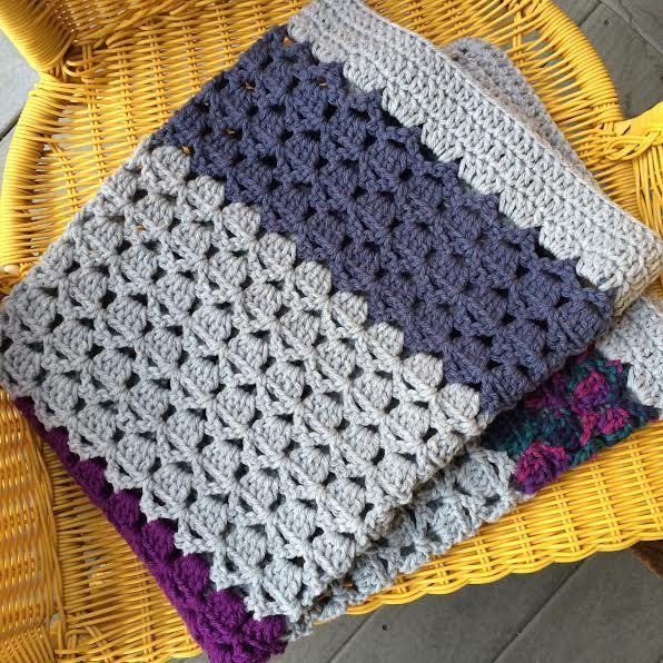 PDF Crochet Pattern | Medley Blanket Afghan Boy Girl Easy Lovey ...