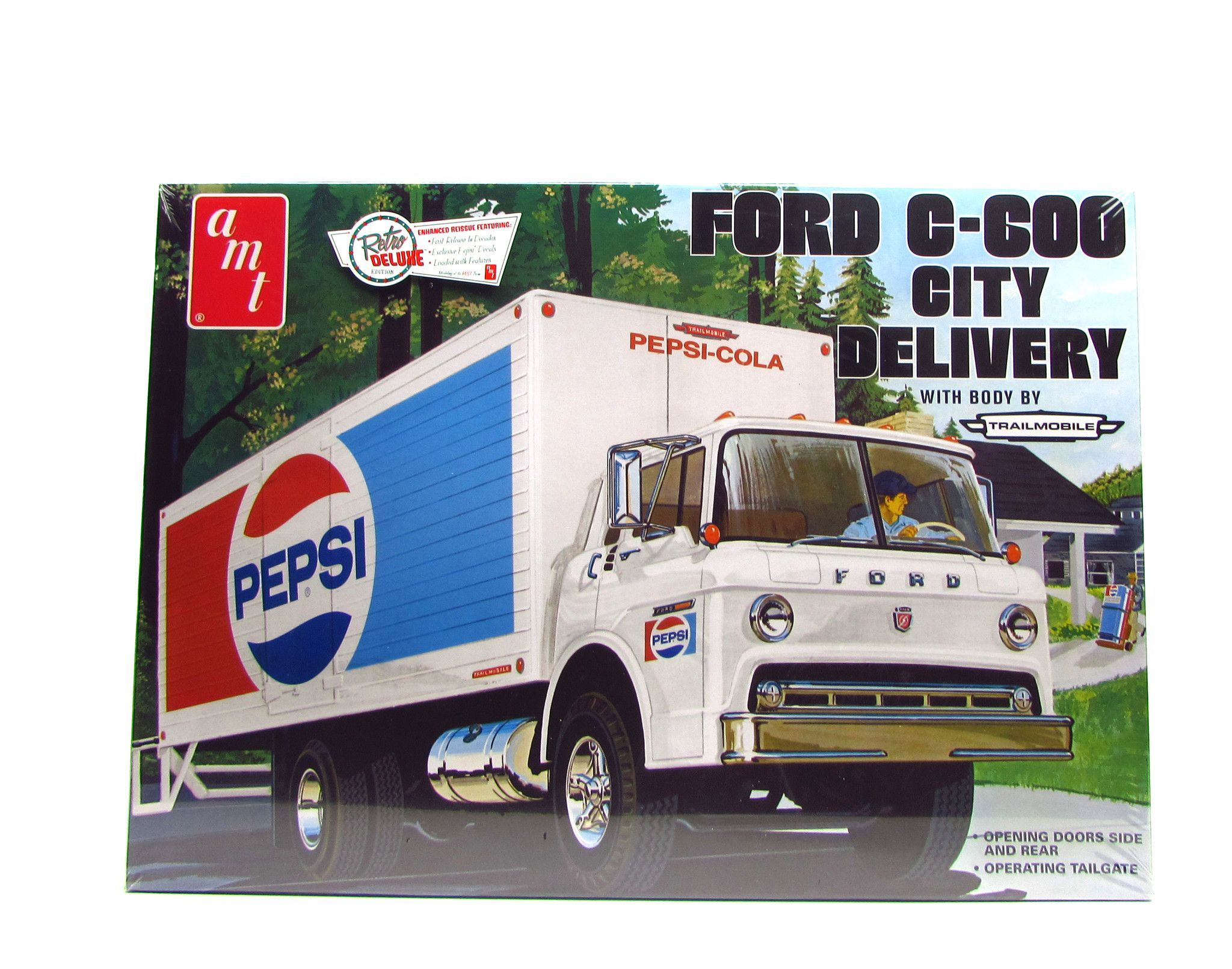 Ford C 600 City Delivery Truck AMT 804 1 25 New Plastic Model