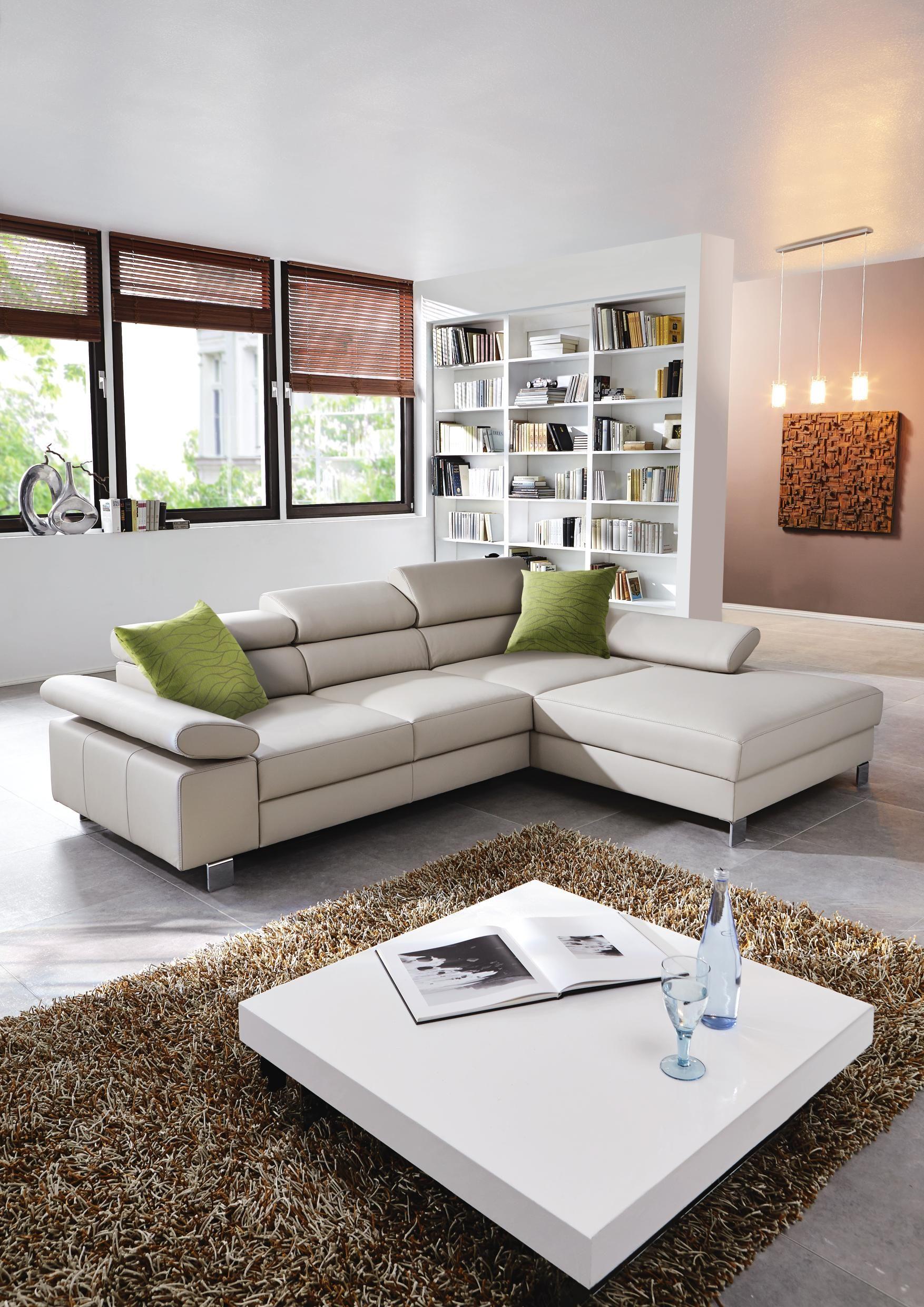 Wohnlandschaft Aus Echtem Leder Markenqualität Von Venda Wohnen Ecksofas Couch