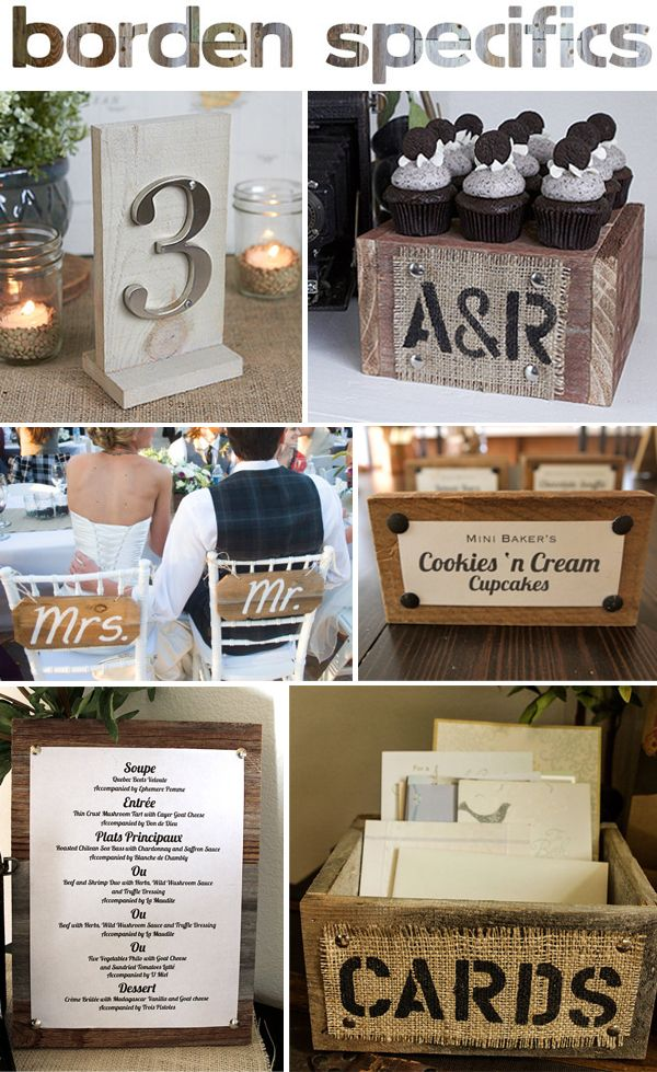 Rustic Wedding Decor Giveaway