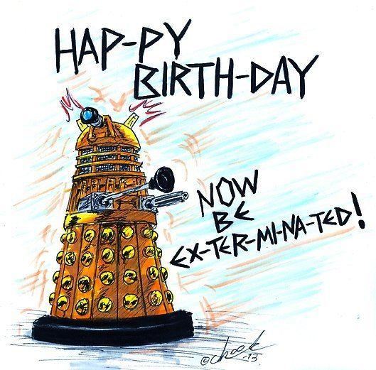 Картинки по запросу день рождения в стиле доктор кто ...