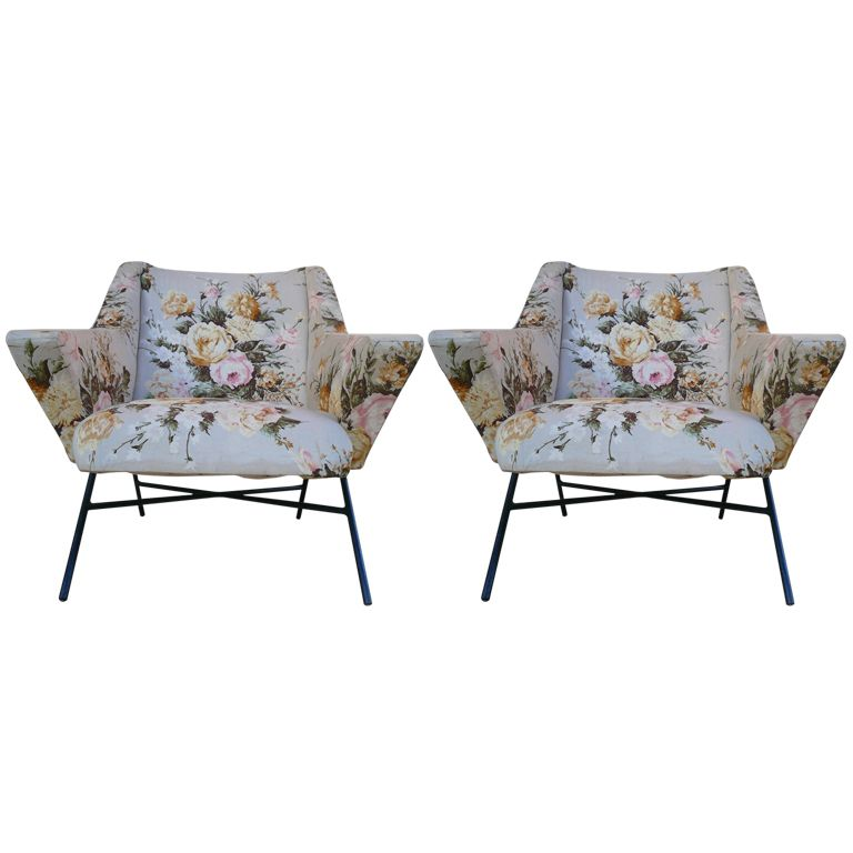 Delightful PAIR OF ARMCHAIR BY GENEVIEVE Du0027ANGLES U0026 CHRISTIAN DEFRANCE X Tracy Porter.