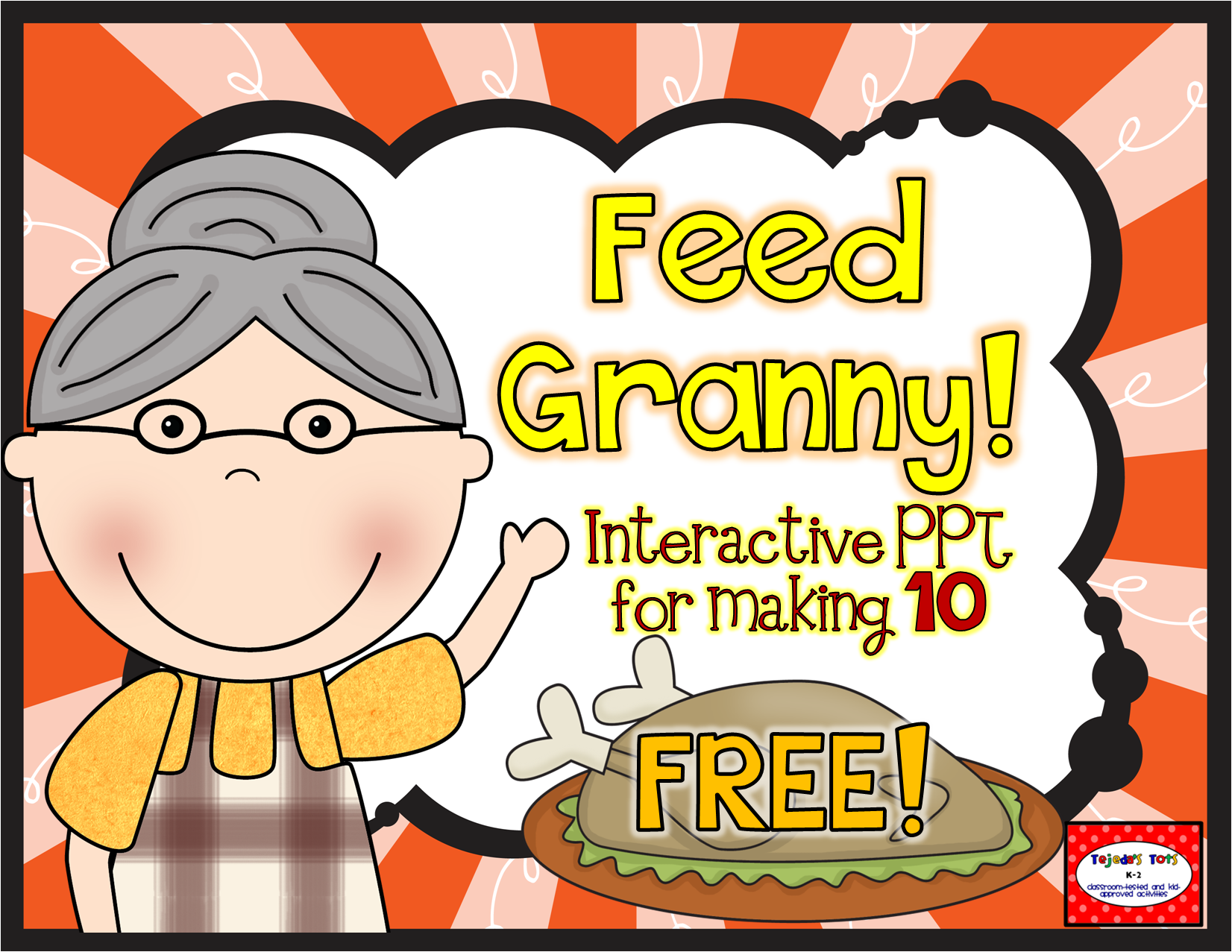 FREE Thanksgiving Math PPT for making 10 Thanksgiving