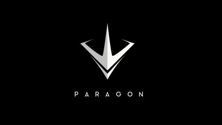 Paragon Game Logo 5k Wallpaper Black 5120x2880 Game Logo Logos Logo Design Typography