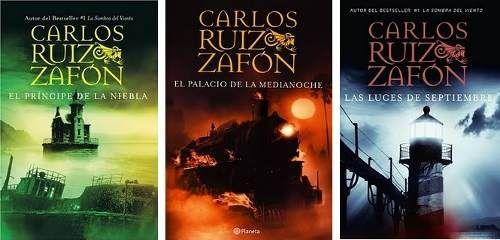 La Trilogía De La Niebla Compuesta Por El Príncipe De La Niebla El Palacio De Media Noche Y Las Luces D Carlos Ruiz Zafon Libros Reseñas De Libros Libros