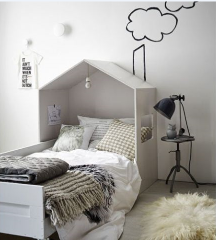 fabriquer sa t te de lit lit cabane tete de et en t te. Black Bedroom Furniture Sets. Home Design Ideas