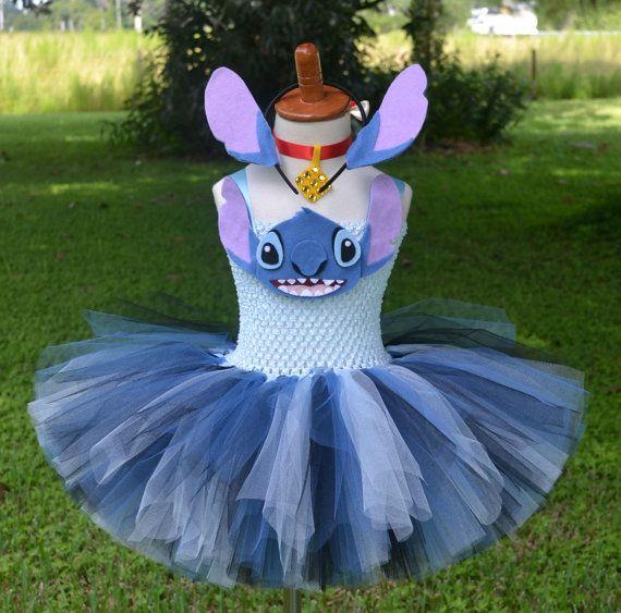 Lilo and Stitch Disney Tutu Outfit Tutu by PrincessFactoryTutus