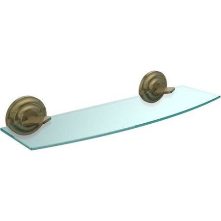 Que New Collection 18 inch Glass Shelf (Build to Order)