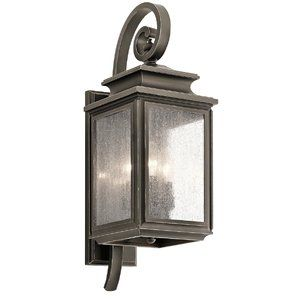 Wiscombe Park 3-Light Outdoor Wall Lantern