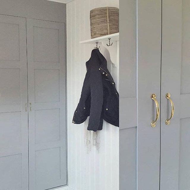 snygga handtag till garderob