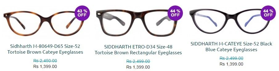 abe1cf0832d1 Eyeglasses for Women at Affordable Price - Siddharth Opticals ...