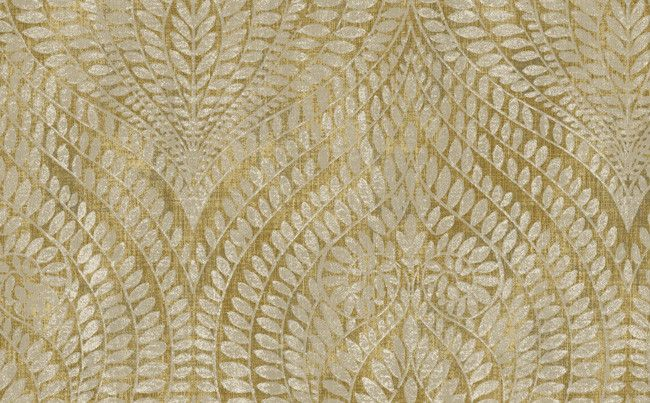 Abstract Leaves Wallpaper in Neutrals and Metallic design by Seabrook Wallcoverings