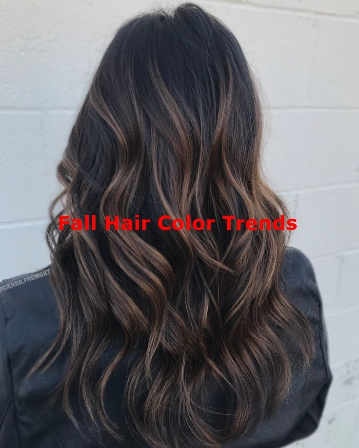 60 Hairstyles Featuring Dark Brown Hair with… #fallhaircolorforbrunettes