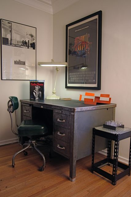 Exceptionnel Vintage Office: Cool Looking Vintage Office Office Style, Home Office  Design, Office Decor