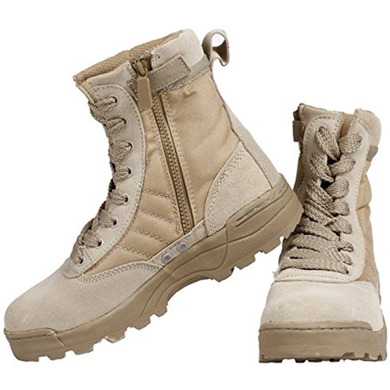 Chariot Trading High Sandyhawk Tactical Boots Lightweight Desert Combat Boots Summer Breathable Boots C Combat Shoes Desert Combat Boots Combat Boots Summer