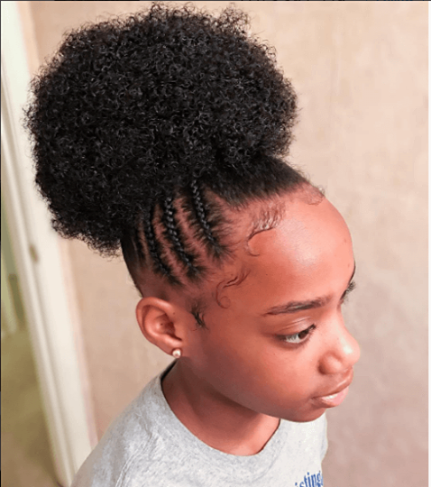 Hairstyle For Kids Mega Puff Perfection Igmisskenk #naturalhairmag #naturalhair