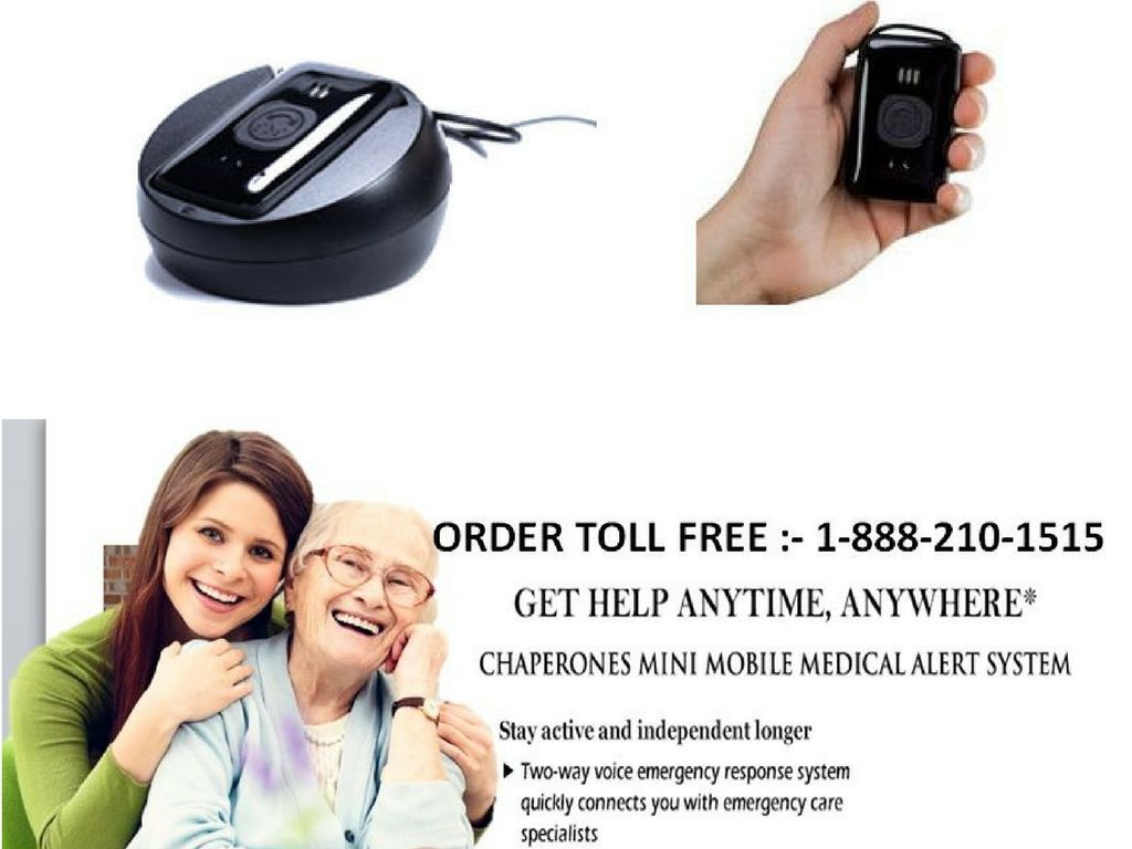 Chaperone offer medical alert systems for older people and
