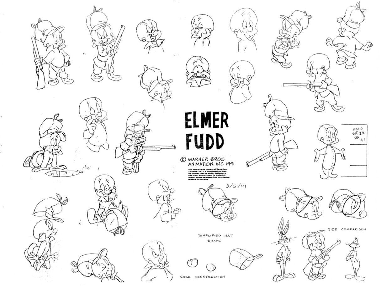 Elmer Fudd Cartoon