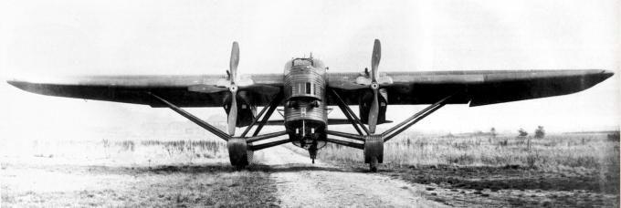AVIMETA 121 (1928) multirole (BCR - Bombardier-Chasse-Reconnaissance - Bomber-fighter-recon) aircraft prototype