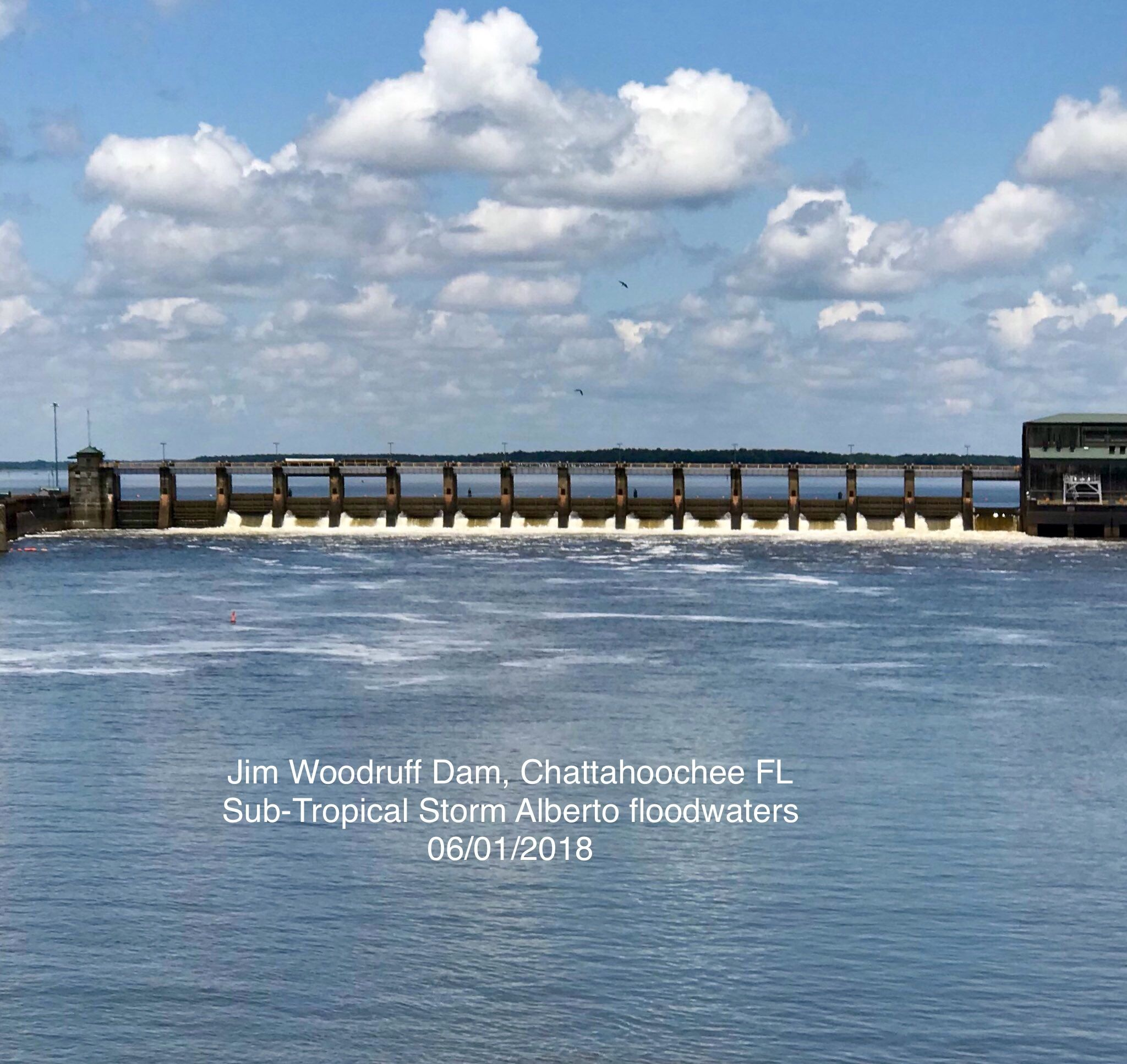 Jim Woodruff Dam, Chattahoochee FL Tropical, Nature, Outdoor