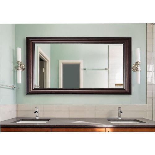 Found it at Wayfair - Double Vanity Wall Mirror
