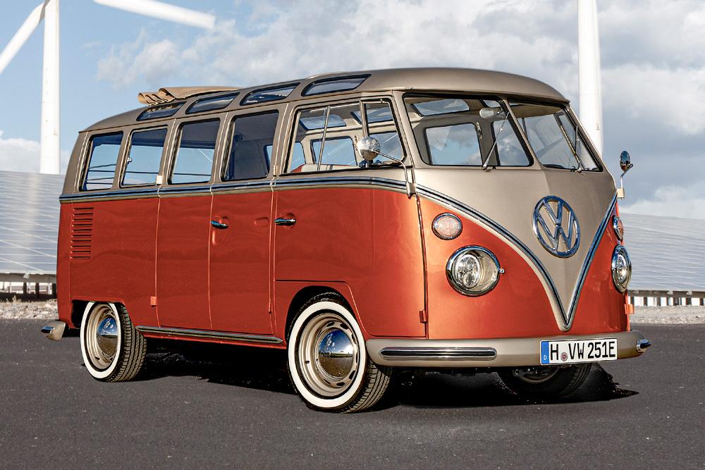 1966 Volkswagen T1 Samba Bus E Bulli Concept Vehicle Hiconsumption In 2020 Volkswagen Car Volkswagen Commercial Vehicle