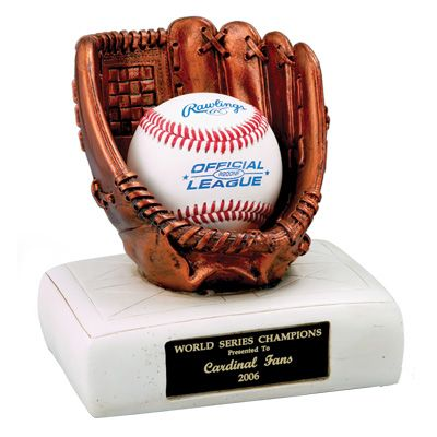 6 1 2 Baseball Glove And Base Trophy Ball Is Not Included Baseball Glove Baseball Trophies Baseball Bases