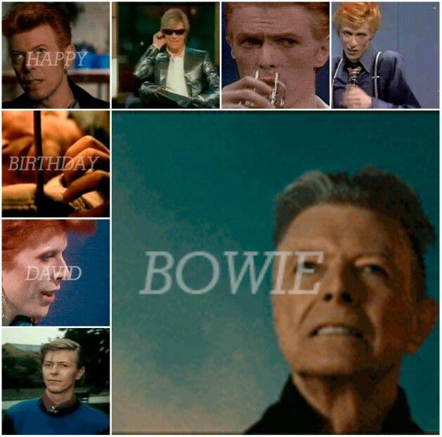 Happy Birthday David Bowie David Bowie Bowie David