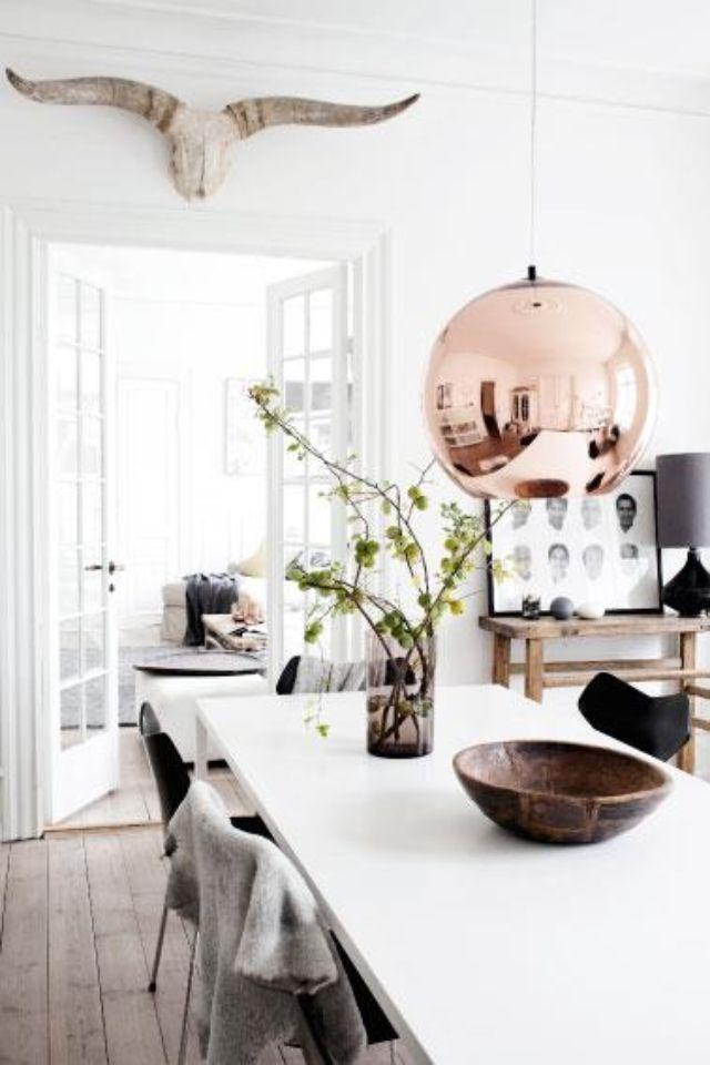 Tom Dixon Light Scandinavian Dining Room Dining Room Design Interior