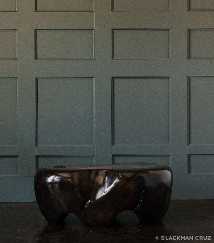 Ebonized Elm Table by Dan Pollock – Blackman Cruz
