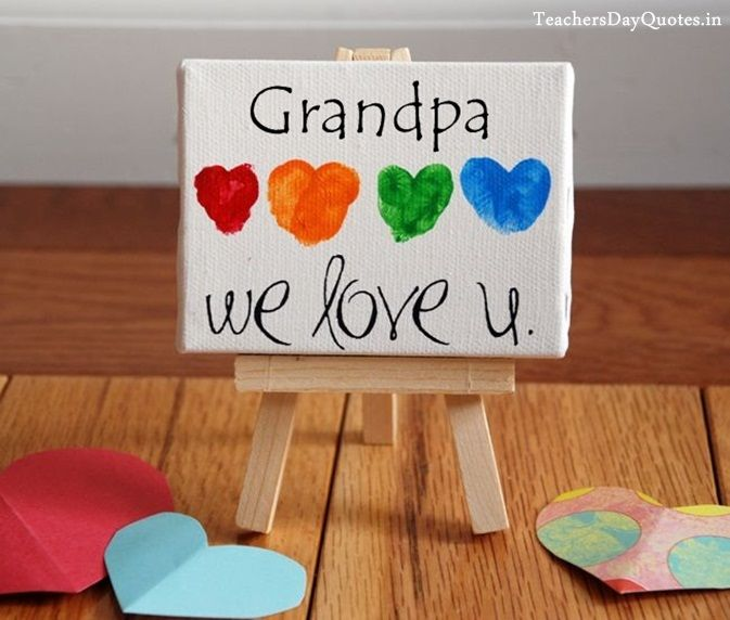 Superior Grandparents Day Craft Ideas For Kids Part - 13: Easy Happy Grandparents Day Crafts Ideas For Grandma U0026 Grandpa