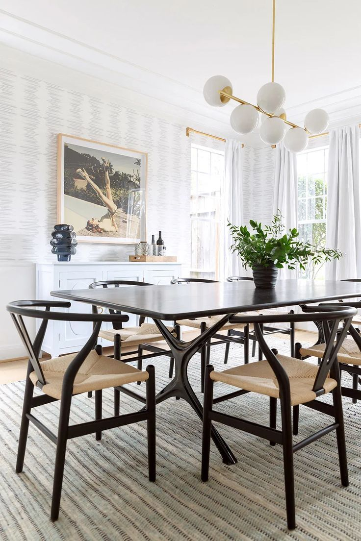Photo of 11 Dining Rooms With Black Chairs | COCOCOZY