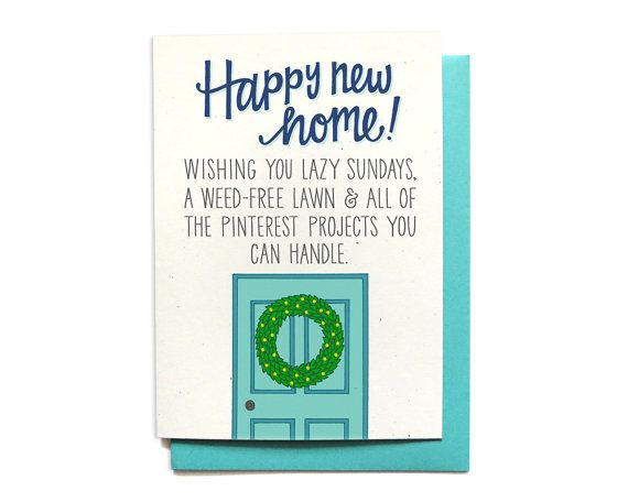 new home card brand new /& sealed congratulations on your new home card