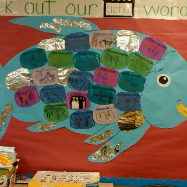 My classroom project from the book the rainbow fish it for Rainbow fish lesson plans
